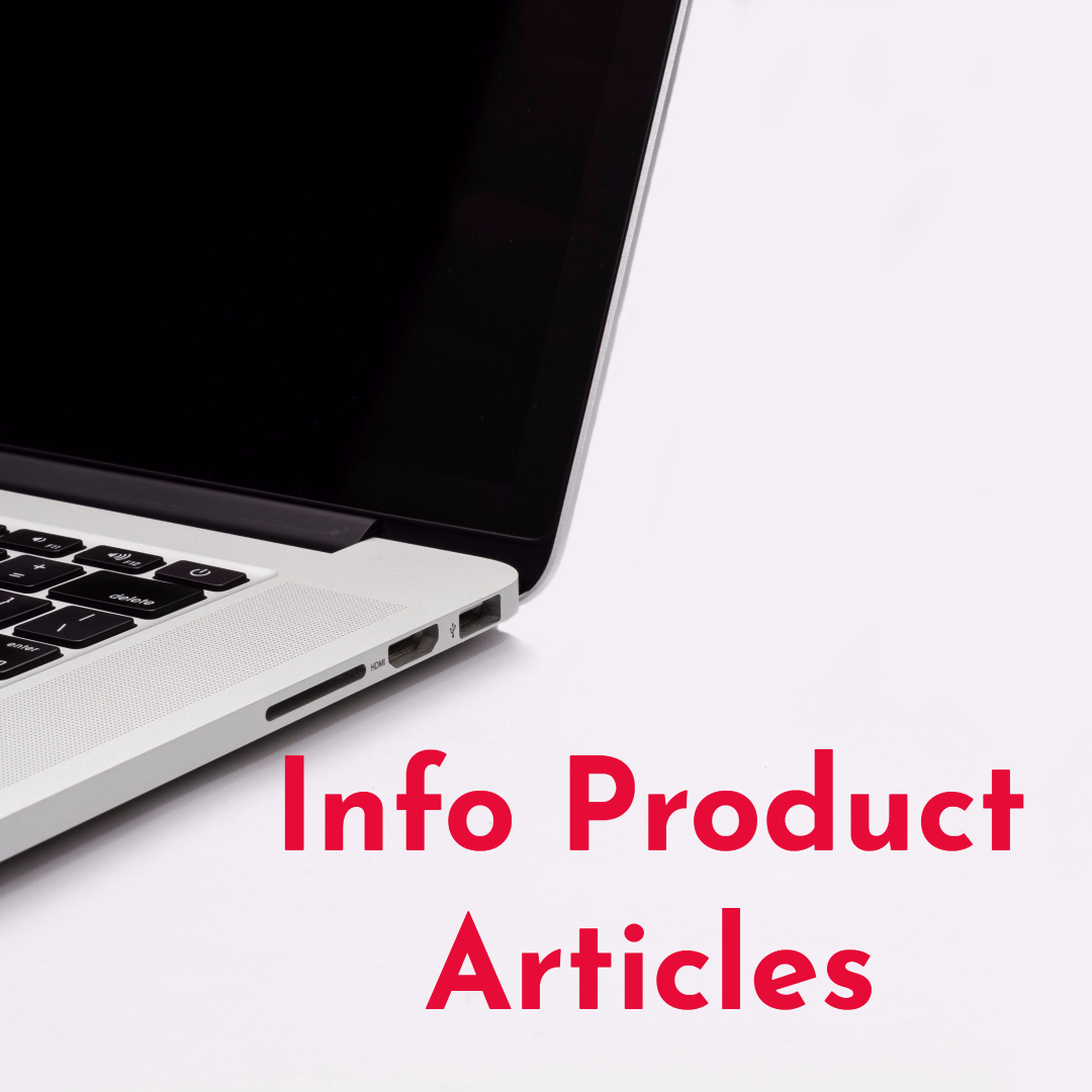 Info Product Articles