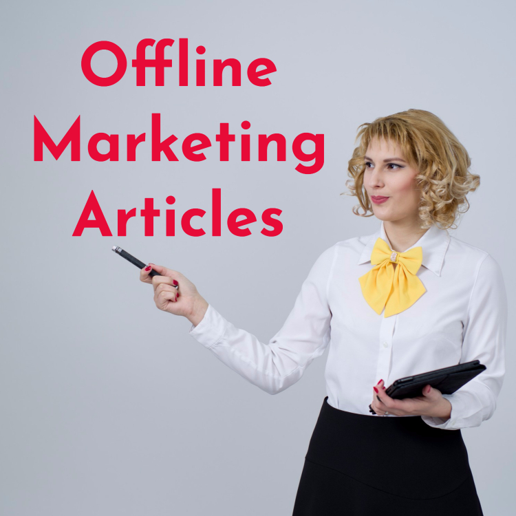 Offline Marketing Methods Articles