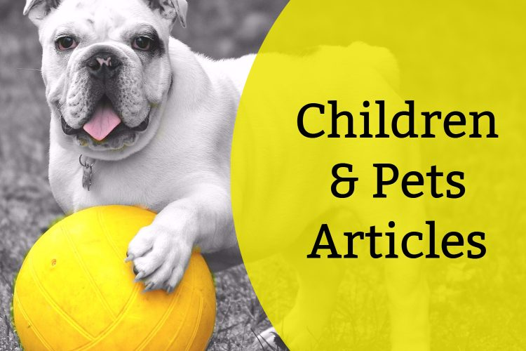 Children And Pets (Articles)